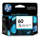 HP Tri-Color Ink Cartridge 60 [CC643WA] - Tinta Printer Hp